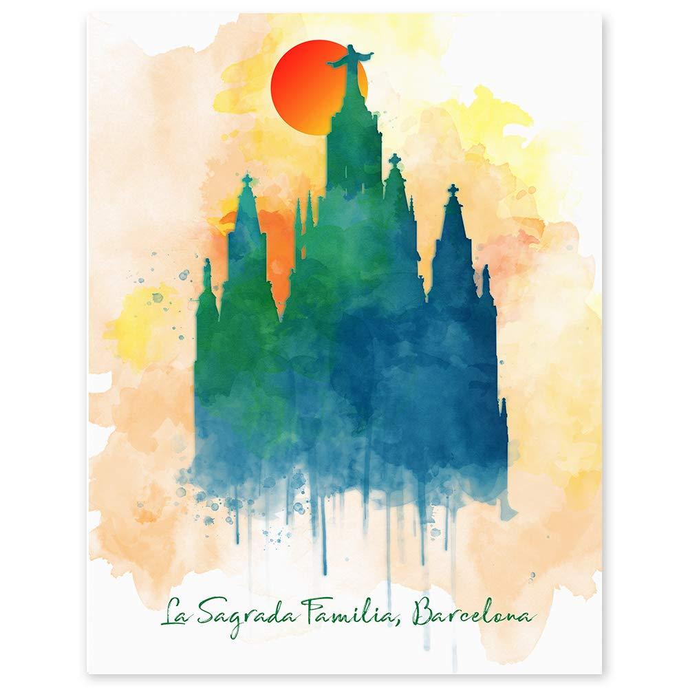 Amazon.com La Sagrada Familia Basilica   Barcelona Spain ...