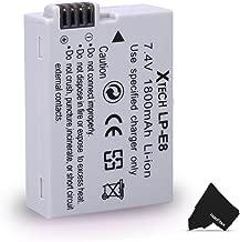 LP-E8/ LPE8 Battery for Canon EOS Rebel T2i T3i T4i T5i EOS 550D 600D 650D 700D Kiss X4 X5 X6