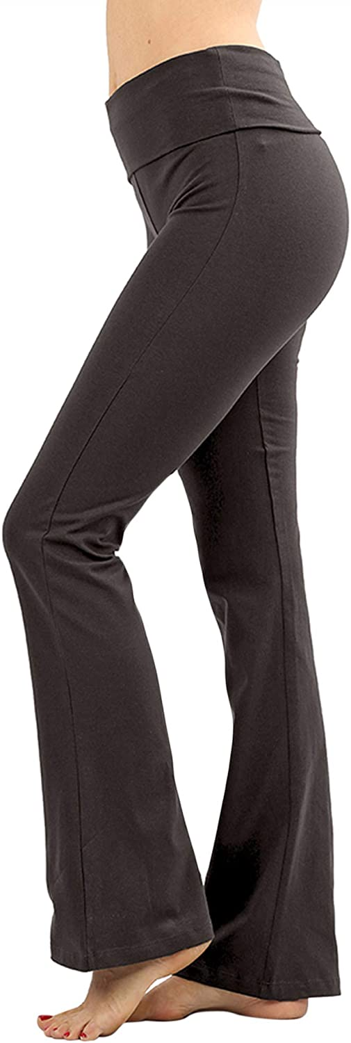 The Lovely Womens Plus Stretch quality Ranking TOP18 assurance Foldover W Cotton Bootcut Waist