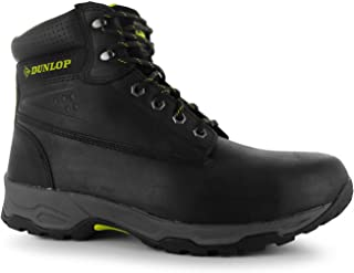 Dunlop Mens Safety On Site Boots Lace Up Mesh Oil and Slip Resistant Shoes