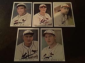 1985 America's National Pastime 1930-1939 St. Louis Cardinals Team Set 5 Cards Johnny Mize