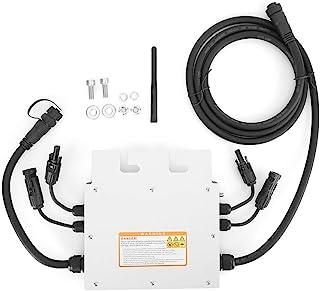 SSG600MD inversor conectado à rede solar 120V 230V microinversor solar à prova d'água com display LED comunicação 2.4G