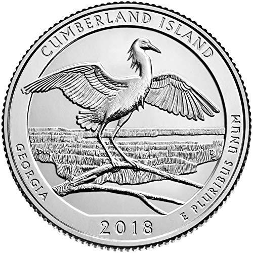 2018 D Bankroll of 40 – Cumberland Island Seashore, GA Quarter Uncirculated