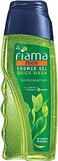 Fiama Men Shower Gel Quick Wash, Body Wash with Skin Conditioners for Moisturised Skin, 250 ml bottle