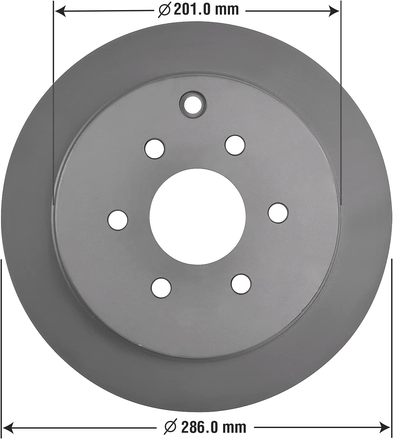 Goodyear Brakes 212322GY Truck Max 58% OFF SUV AntiOx R Rear Popular brand Brake Coated