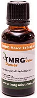 TMRG Power Enhanced Strength Profesional Vocal Cord Remedy 100% Natural Herbal Voice Supplement TMRG Drops ...