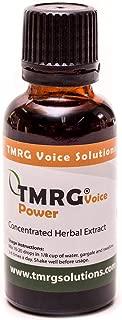 TMRG Power Enhanced Strength Profesional Vocal Cord Remedy 100% Natural Herbal Voice Supplement TMRG Drops (30ml)