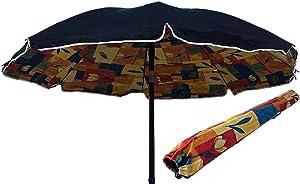 Ombrellone Spiaggia in POLYCOTTON 200 cm Lido Mare TINDARI - Blu