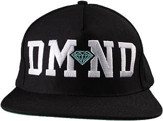 Diamond Supply Co. Black/White Diamond Blue Snapback Hat