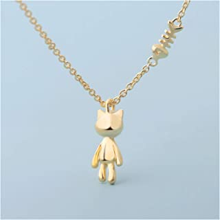 Women Necklace Necklace Female Sterling Silver Clavicle Chain Puppy Niche Design Pendant Jewelry Lovers Birthday Valentin...