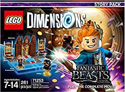 Xbox One video games Fantastic Beasts for LEGO Dimensions.