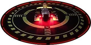 Drone Landing Pad with Night Lights, Universal 70 cm/27.5 Folding Parking Apron for RC Quadcopter, Fits DJI Phantom 3/4, M...
