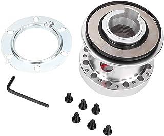 Gorgeri Auto Lenkradnaben Adapter Kit Premium Aluminiumlegierung Silber