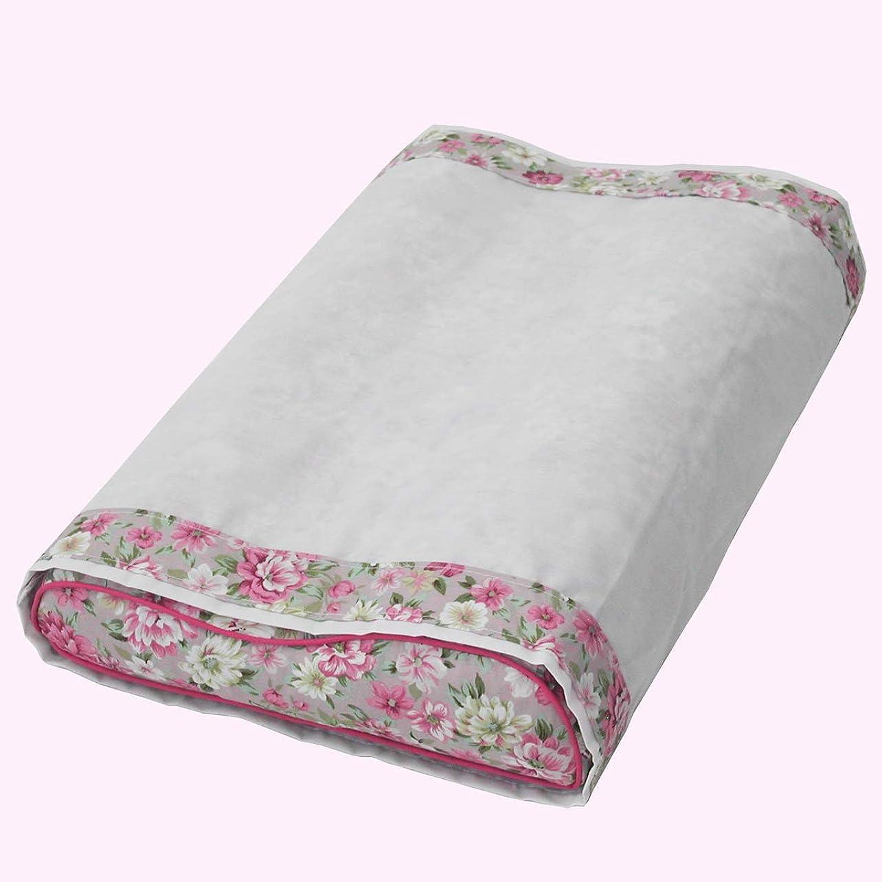 感謝祭カプラー服を着るそばがら枕 三層型 頸椎安定型 そばがらおまけ付き ピンク