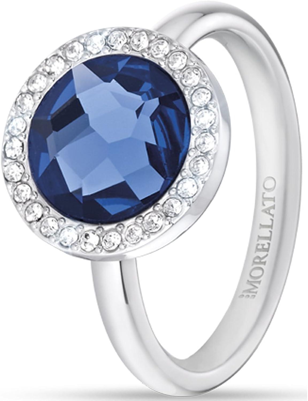 Morellato Women SilverPlatedBase Ring Size 7