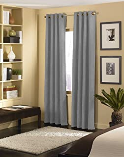 Curtainworks Cameron Grommet Curtain Panel, 50 by 120