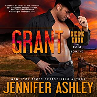 Grant     Riding Hard, Volume 2              Written by:                                                                                                                                 Jennifer Ashley                               Narrated by:                                                                                                                                 Eric Dove                      Length: 5 hrs and 42 mins     Not rated yet     Overall 0.0