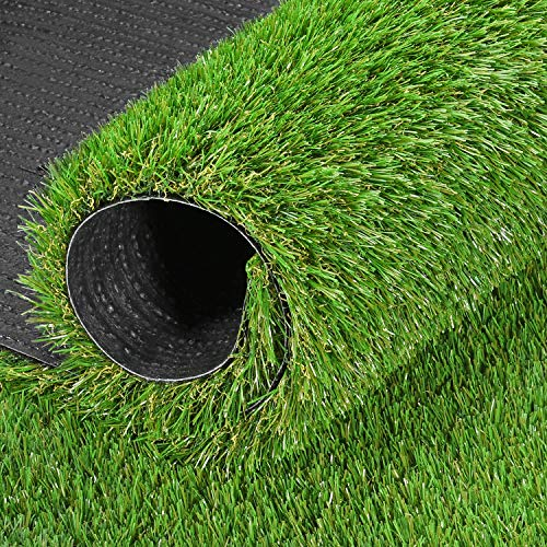 GRASSUN Realistic Artificial Grass Turf 3 FT x 5 FT, 5 Tone Fake Faux Grass Rug Indoor Outdoor Synthetic Turf Mat for Garden Lawn Patio Balcony, Mats for Dog and Pets 3