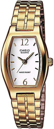 Montre Casio Collection Femme Analogique LTP-1281P avec Bracelet en Acier Inoxydable