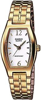 Casio Orologio Analogico Classico Quarzo Donna con Cinturino in Acciaio Inox LTP-1281PG-7A