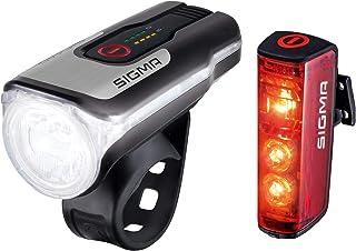 Sigma Sport Sigma aura 80 Usb/blixt belysningsset, Svart