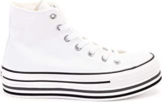 Luxury Fashion | Converse Womens 564485C207 White Hi Top Sneakers | Season Permanent