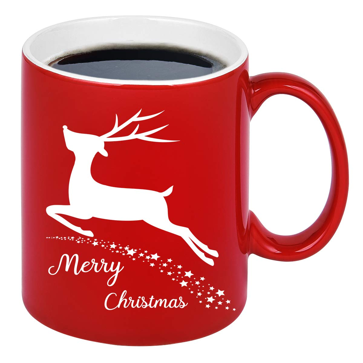 Image of Merry Christmas Reindeer Mug
