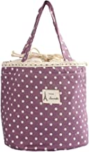 Mini Snack Tote,IEason Clearance Sale! Thermal Insulated Lunch Box Tote Cooler Bag Bento Pouch Lunch Container (Purple)
