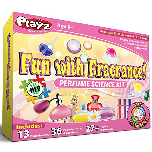 Playz Fun with Fragrance Perfume Making Science Kit for Kids...