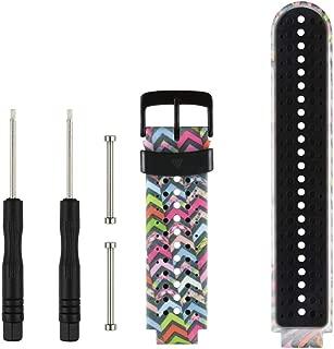 Tkasing for Garmin Forerunner 235 Watch Bands, Replacement Accessory Silicone Sport Wristband/Strap/for Garmin Forerunner 220/230/620/630/735XT/235Lite