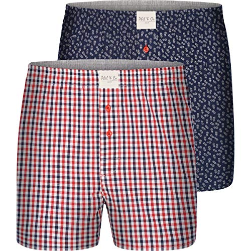 Phil&Co. Berlin 2er Sets Boxershorts Classics (Set 3) L