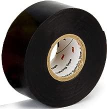 Scotch Linerless Rubber Splicing Tape 130C, 1 in x 10 ft, Black