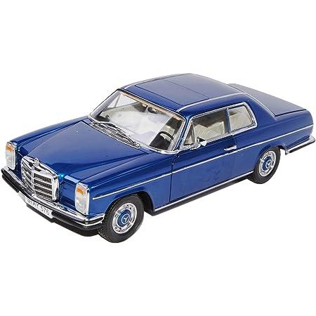 Sun Star Mercedes Benz 220 8 Strich Acht Coupe Blau W114 1967 1976 1 18 Modell Auto Mit Individiuellem Wunschkennzeichen Spielzeug