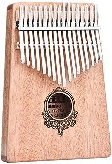 CHENTAOCS Thumb Piano, Kalimba, 17-tone, Beginner`s Entry Portable Finger Piano (Color : Wood color)
