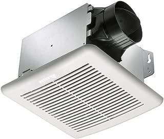 Delta Electronics GBR100-B Breez Green Builder Ventilation Fans, 100 CFM, Motor and Grill