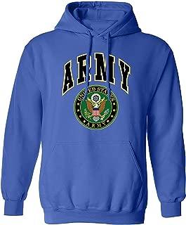 US Army Emblem Mens Sweatshirt, US Great Seal Army Pullover Hoodie