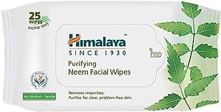 Himalaya Purifying Neem Facial Wipes, 25 Count