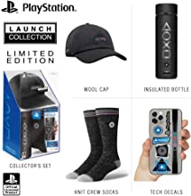 Controller Gear Official Sony PlayStation 5 Launch Collection Merchandise Bundle - Wide Mouth Stainless Steel Water Bottle...