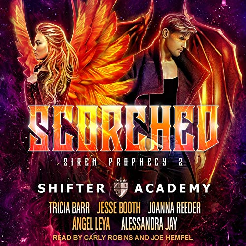 Scorched: Siren Prophecy 2 audiobook cover art