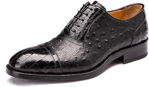 XIE herren Inteligente Cuero Oxford schuhe Cocodrilo Patrón Formal Boda Negocio Encajes Casual para herren schwarz braun tamaño 38-44