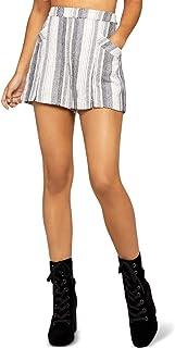 BCBGeneration womens SPLIT HEM SHORT Shorts