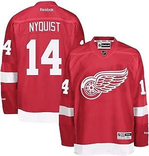 Reebok Detroit Red Wings #14 Gustav Nyquist Red Premier Jersey