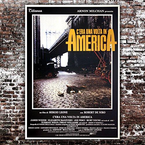 GoPoster Poster Cinema C'era Una Volta in America - Formato: 70x100 CM - Sergio Leone