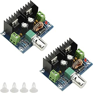 XLX 2PCS 5A Dc-Dc Adjustable Step-Down Module Max 8A 200W 4-40V to 1.25-36VXL4016E1 High Power DC Pressure Regulating Boa...