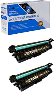 Inksters Compatible Toner Cartridge Replacement for HP 646X (CE264X) Black -Compatible with Color Laserjet CM4540 MFP CM4540F MFP CM4540FSKM MFP (2 Pack)