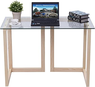 Amazon.com: Yaheetech Sofa and Console Table with Drawer and ...