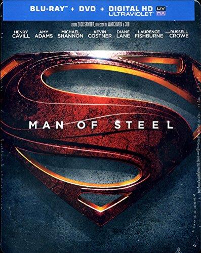 Man of Steel - Limited Edition Steelbook [Blu-ray]