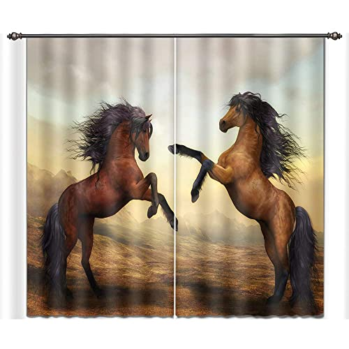 Horse Curtains For Bedroom.Horse Curtains For Bedroom Amazon Com