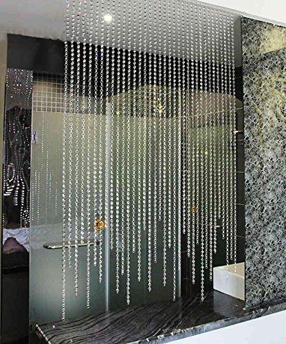 WUFENG Vorhang Sommer-Zimmer Tür Fenster Perlenvorhang Türvorhang Fadenvorhang Fadenstore Raumteiler Kreatives Perlen Quaste Design Vorhänge Anti-Moskitos Vorhänge Vorhänge (größe : 160 * 100cm)