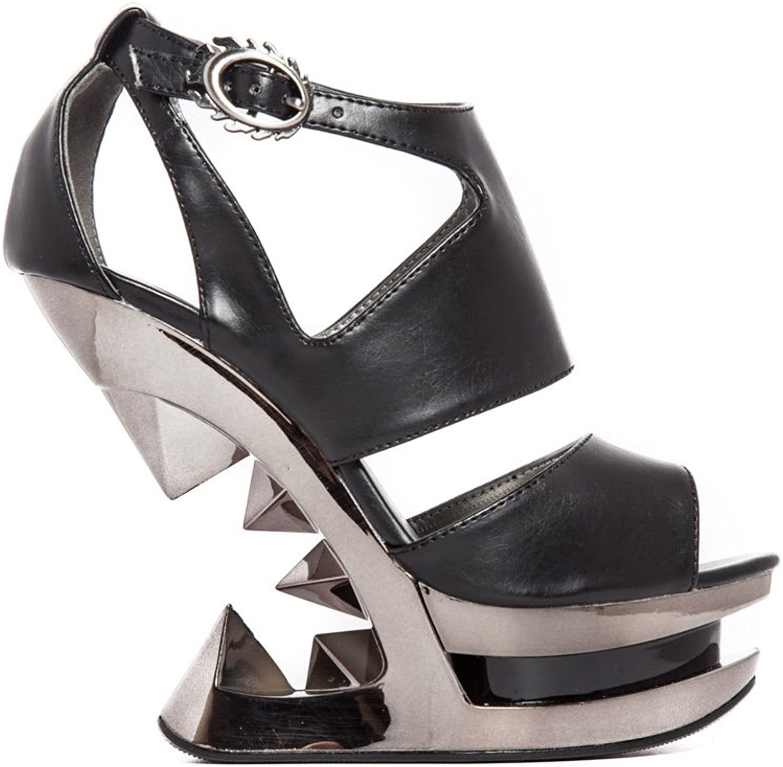 Hades shoes H-Hanya Pyramid Wedge Heels.